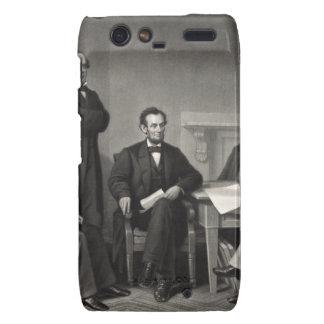 Lincoln Reading the Emancipation Proclamation Motorola Droid RAZR Case