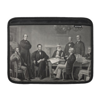 Lincoln Reading the Emancipation Proclamation MacBook Air Sleeves