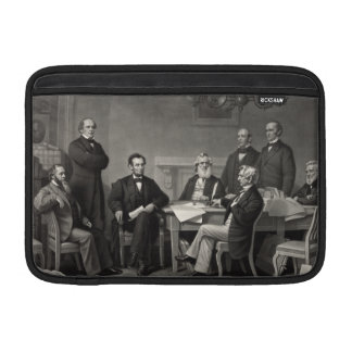 Lincoln Reading the Emancipation Proclamation MacBook Air Sleeve