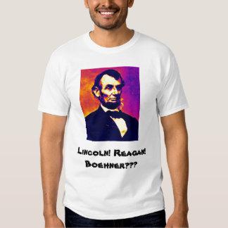 Lincoln! Reagan! Boehner??? Shirt