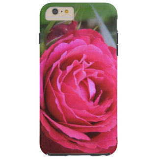 Lincoln Red Rose w/Bud Tough iPhone 6 Plus Case