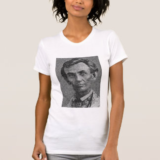 Lincoln Rendered with Gettysburg Address Shirts