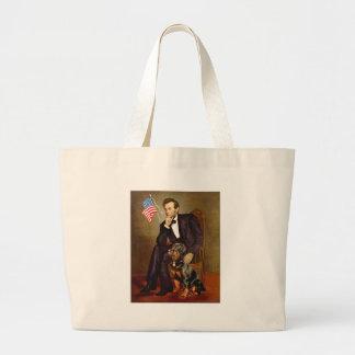 Lincoln - Rottweiler Bolsa Tela Grande