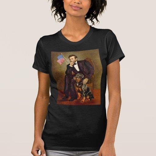 Lincoln - Rottweiler Camiseta