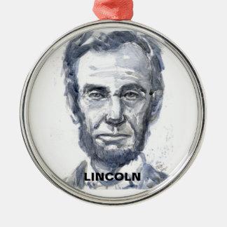 Lincoln Round Ornament
