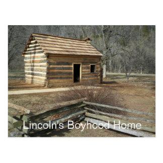 Lincoln s Boyhood Home Knob Creek KY Postcards