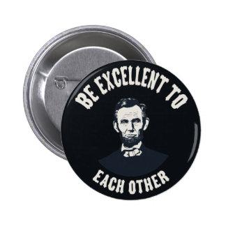 Lincoln - sea excelente pins