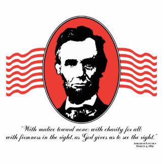 Lincoln Second Inaugural Address Quote Cut Outs