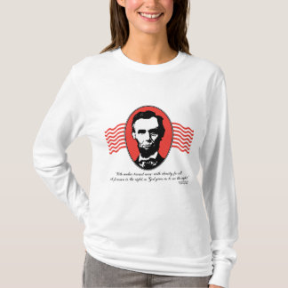 Lincoln Second Inaugural Address Quote T-Shirt