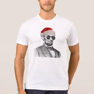 Lincoln Secret Santa Christmas T-shirt *NEW 2012*