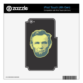 Lincoln Skin For iPod Touch 4G