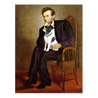 Lincoln -Smooth Fox Terrier 1 Post Cards