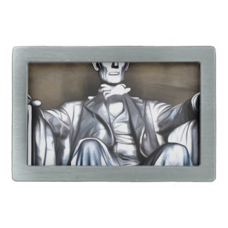 Lincoln Statue Belt Buckle