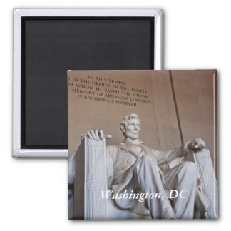 Lincoln Statue Magnet