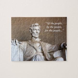 Lincoln Statue Puzzle
