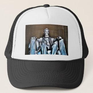 Lincoln Statue Trucker Hat
