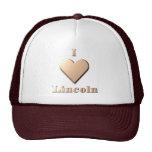 Lincoln -- Tan Mesh Hat