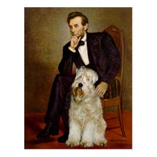 Lincoln - Terrier de trigo 7 Tarjeta Postal