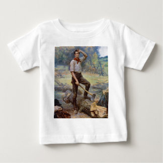 Lincoln the Rail Splitter by Jean L. Gerome Ferris Baby T-Shirt