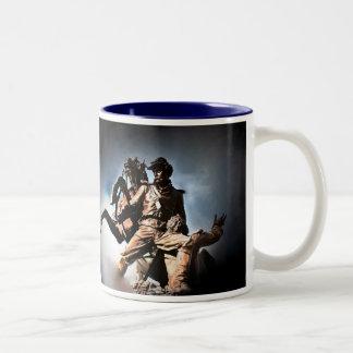 Lincoln Tomb Two-Tone Coffee Mug