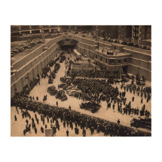 Lincoln Tunnel NJ / NYC Opening Ceremony Dec. 1937 Photo Cork Paper