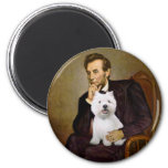 Lincoln - Westie 2 Magnets