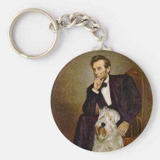 Lincoln - Wheaten Terrier 7 Keychain