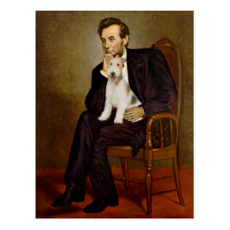 Lincoln - Wire Fox Terrier #1 Postcard