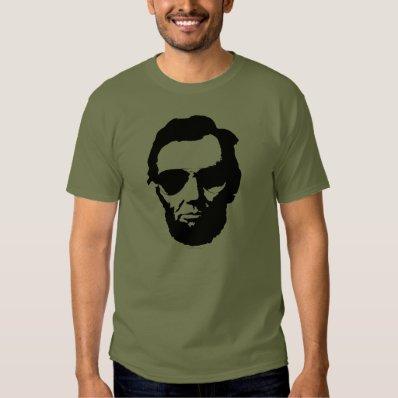 Lincoln with Aviator Sunglasses - Black Tee Shirt