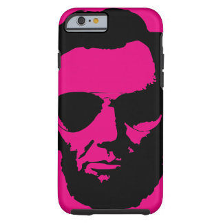 Lincoln with Aviator Sunglasses - Black Tough iPhone 6 Case