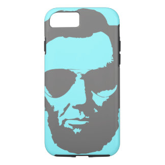 Lincoln with Aviator Sunglasses - Gray iPhone 7 Case