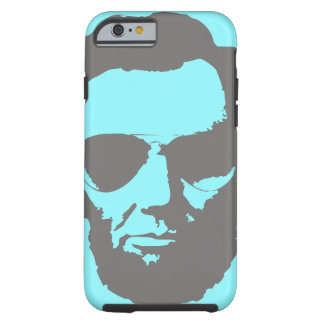 Lincoln with Aviator Sunglasses - Gray Tough iPhone 6 Case