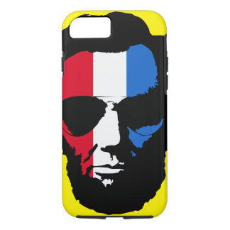 Lincoln with Aviator Sunglasses - Pop Art iPhone 7 Case