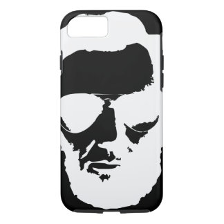 Lincoln with Aviator Sunglasses - White iPhone 7 Case