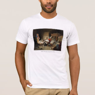 Lincoln Writing The Emancipation Proclamation T-Shirt