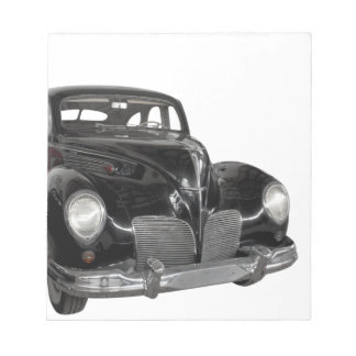 Lincoln Zephyr Notepad
