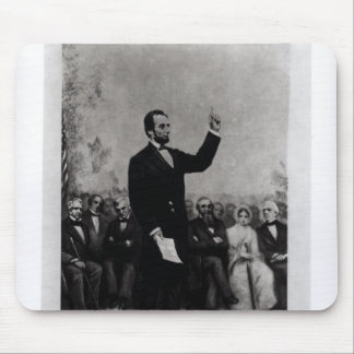 Lincoln's Address at Gettysburg, 1895 Mouse Pad