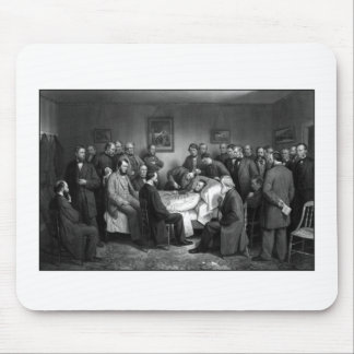 Lincoln's Deathbed Mouse Pad