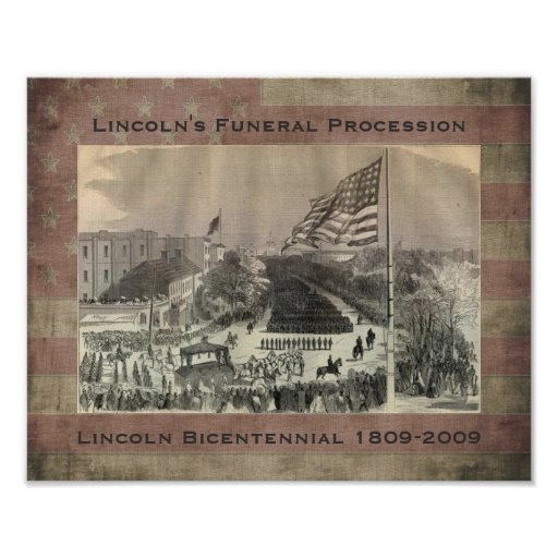 Lincoln's Funeral Procession - Customized Posters