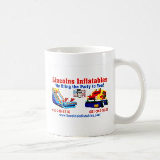 Lincolns inflatables Business Card 2.jpg Coffee Mug