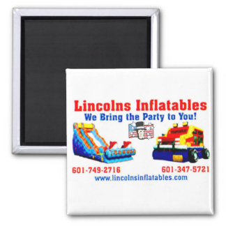 Lincolns Inflatables Magnet