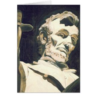 Lincoln's Memorial Thank You Card