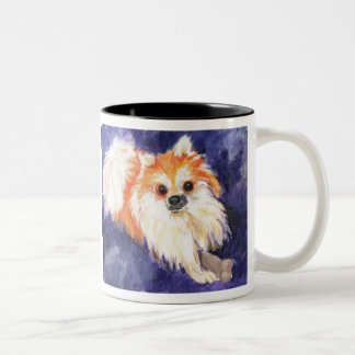 Lincoln's Merry Belle Two-Tone Coffee Mug