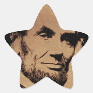 Lincoln's Mug Star Sticker