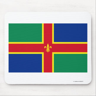 Lincolnshire Flag Mouse Pad