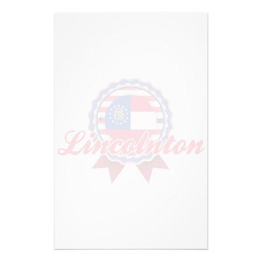 Lincolnton, GA Personalized Stationery