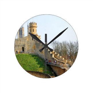 Lincon castle round clock