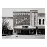 Lincon Theatre, Fayettville Tennesseee Greeting Cards