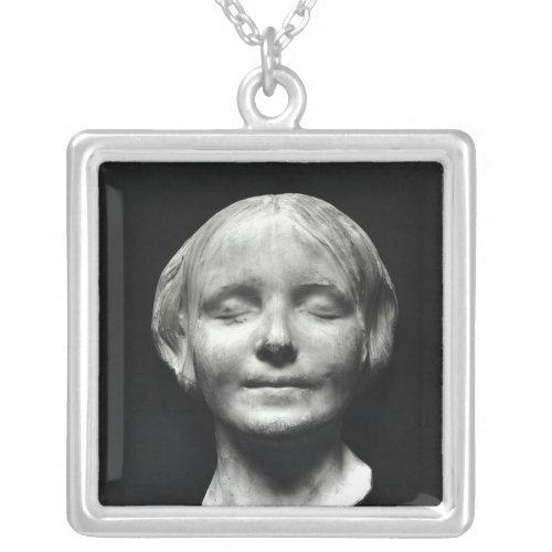 L'Inconnue de la Seine' Silver Plated Necklace