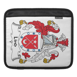 Lind Family Crest Sleeves For iPads